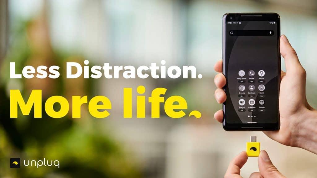 Zorg voor minder afleiding van je Smartphone met Unpluq!